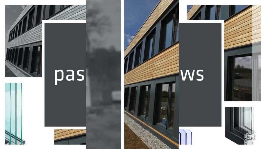 low-cost passive windows