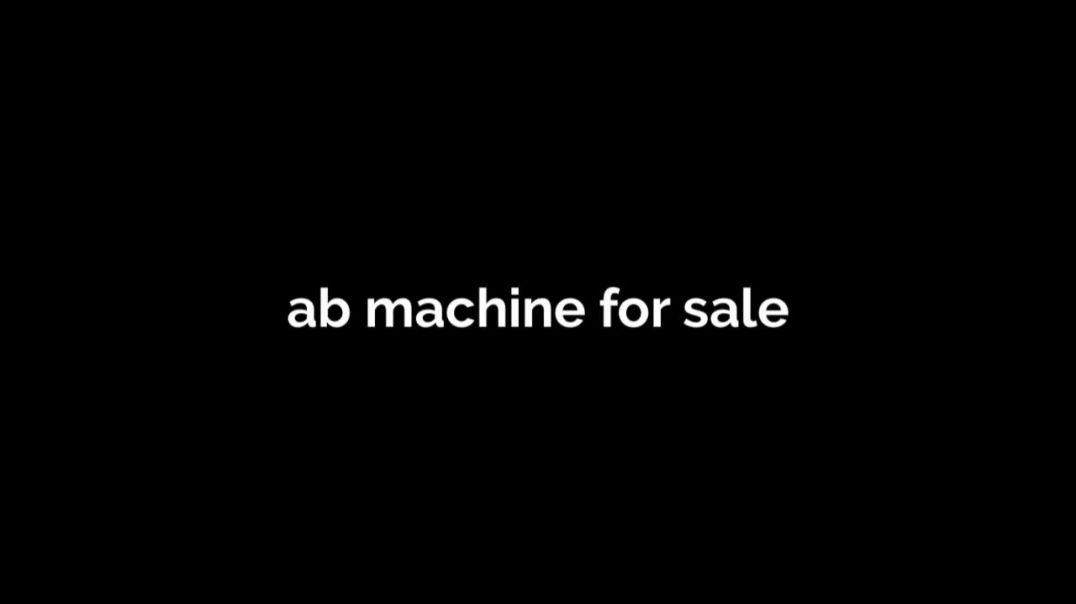 ab machine for sale