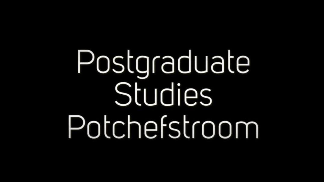 Postgraduate Studies Potchefstroom
