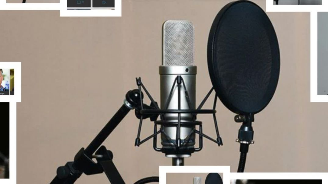 Recording of announcers, actors, parodists, children's and foreign voices from around the world