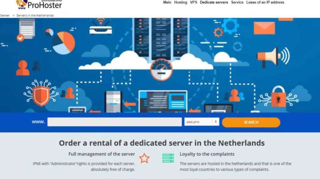 hosting in the Netherlands