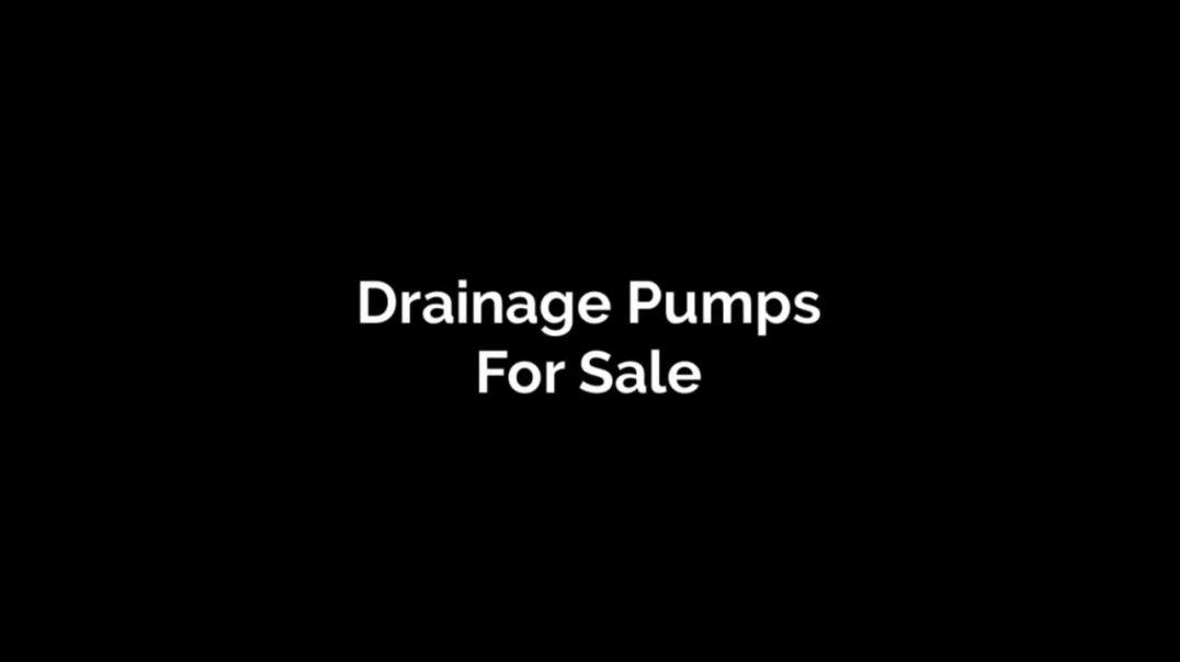 Drainage Pumps For Sale