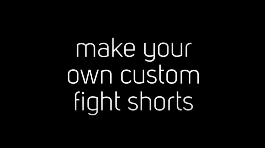 design your own fight shorts