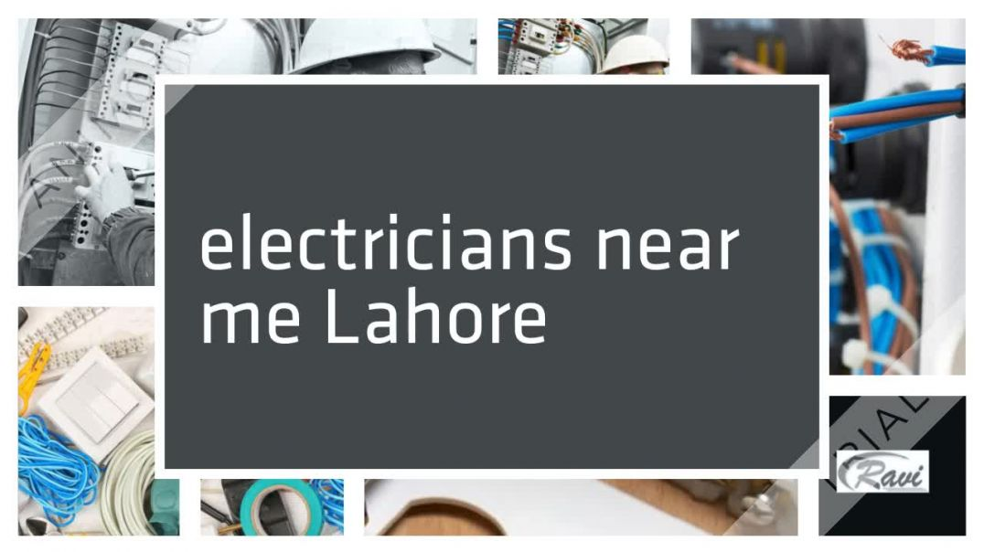electrician services in Lahore