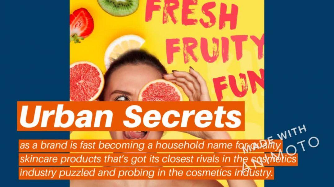 Urban Secrets_ A Skin Care Brand